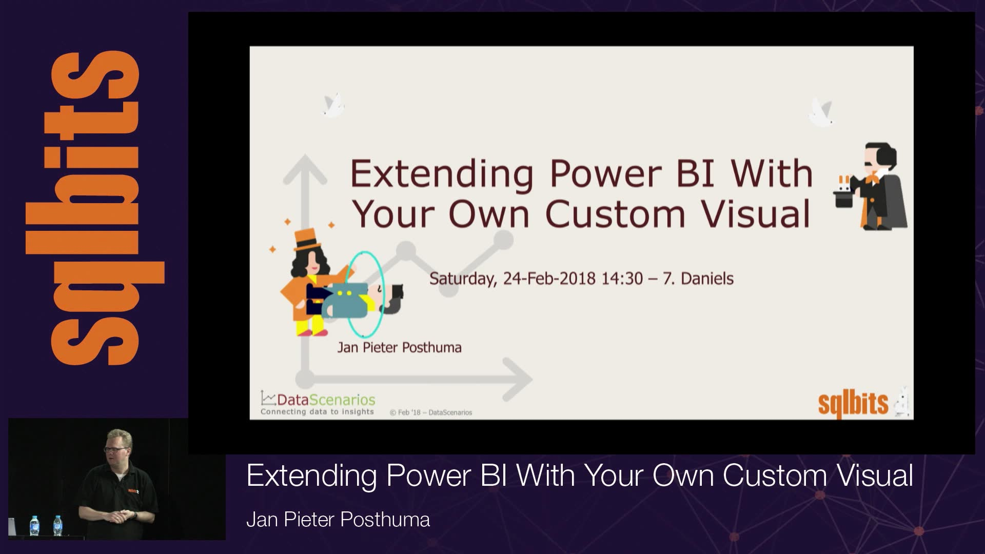 Extending Power BI With Your Own Custom Visual with Jan Pieter Posthuma